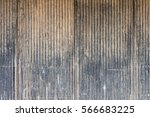 Old Scratched Metal Wall. It I...