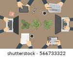 team work concept....   Shutterstock .eps vector #566733322