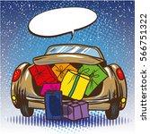 vector illustration of opened... | Shutterstock .eps vector #566751322