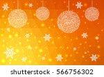 light orange vector christmas...   Shutterstock .eps vector #566756302