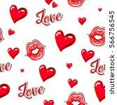 Valentines Day. Fashion Girlish ...