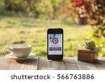 chiang mai  thailand   january... | Shutterstock . vector #566763886
