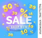best sale banner. original... | Shutterstock .eps vector #566772796