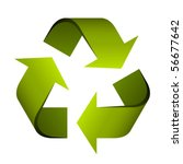 vector recycle symbol | Shutterstock .eps vector #56677642