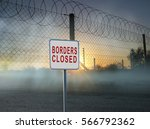 borders closed sing | Shutterstock . vector #566792362