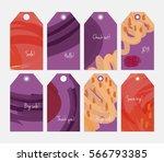 marker brush doodles strokes... | Shutterstock .eps vector #566793385
