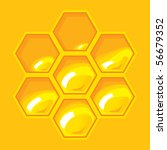 Honeycomb For Illustration The...