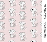 seamless vector simple pattern... | Shutterstock .eps vector #566798716