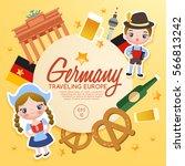 traveling europe   germany... | Shutterstock .eps vector #566813242