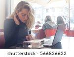 study girl student | Shutterstock . vector #566826622