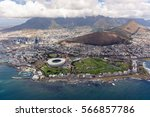 cape town overview from... | Shutterstock . vector #566857786