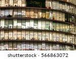 london office building... | Shutterstock . vector #566863072