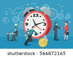 startup work moments. the...   Shutterstock .eps vector #566872165