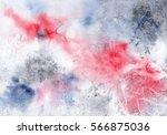 abstract pink and gray hand... | Shutterstock . vector #566875036