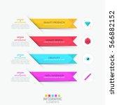 modern infographic design... | Shutterstock .eps vector #566882152