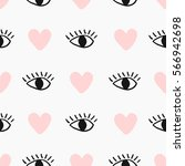 Modern Seamless Pattern With...