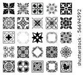 set of ornaments | Shutterstock .eps vector #56694592