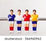 foosball table soccer .sport...   Shutterstock . vector #566960962