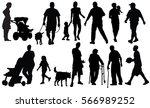 painting service vector... | Shutterstock .eps vector #566989252