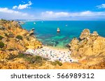 wonderful view of camilo beach... | Shutterstock . vector #566989312