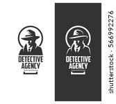 Detective Agency Emblem With...