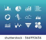 financial and marketing data... | Shutterstock .eps vector #566993656