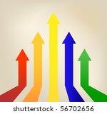 vector arrows. eps 10 | Shutterstock .eps vector #56702656