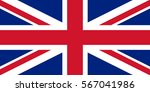 flag of united kingdom | Shutterstock .eps vector #567041986