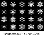 snowflake vector icon... | Shutterstock .eps vector #567048646