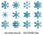 snowflake vector icon... | Shutterstock .eps vector #567048766