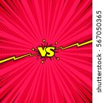 comic book versus background ... | Shutterstock .eps vector #567050365