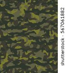 fashionable camouflage pattern  ... | Shutterstock .eps vector #567061882