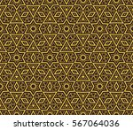 ornamental seamless pattern.... | Shutterstock .eps vector #567064036