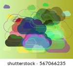 sky template design | Shutterstock .eps vector #567066235