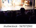 people at the theater | Shutterstock . vector #567072502