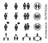 people icon | Shutterstock .eps vector #567076246
