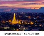 Wat Arun Temple Of A Dawn  In...