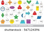 geometric shapes set to be... | Shutterstock .eps vector #567124396