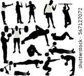 men recreational sport...   Shutterstock .eps vector #567127072