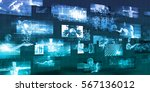medical software of the future... | Shutterstock . vector #567136012