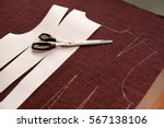 tailoring. clothing sewing... | Shutterstock . vector #567138106