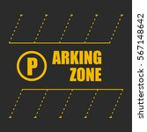 parking zone | Shutterstock .eps vector #567148642