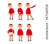 schoolboy. design work and... | Shutterstock . vector #567160918