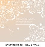 greeting background | Shutterstock .eps vector #56717911