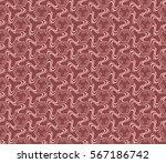damask floral seamless pattern. ...   Shutterstock .eps vector #567186742