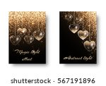 marriage background with... | Shutterstock .eps vector #567191896