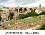 Palatino And Roman Forum In...