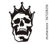 skull head king | Shutterstock .eps vector #567228256