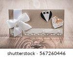 invitation card for wedding. | Shutterstock . vector #567260446