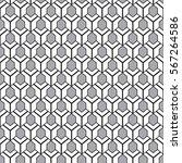 seamless geometric pattern    Shutterstock .eps vector #567264586